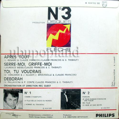 disques claude françois originaux