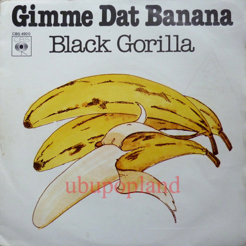 Black Gorilla Gimme Dat Banana Funky Jungle